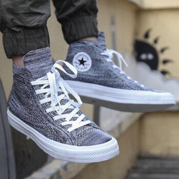 Converse Chuck Taylor All Star X Flyknit Blk/Grey